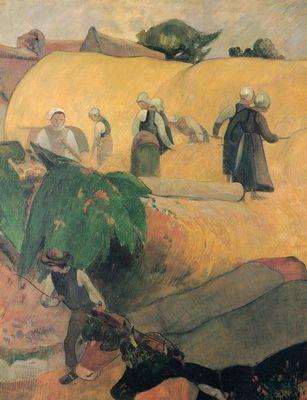 Gauguin Ernte