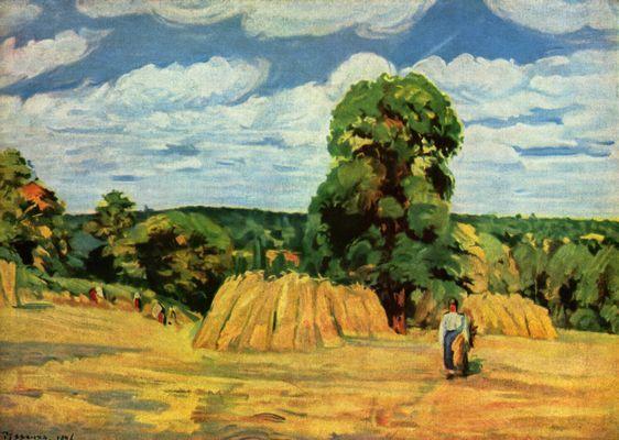Pissarro Ernte 1876