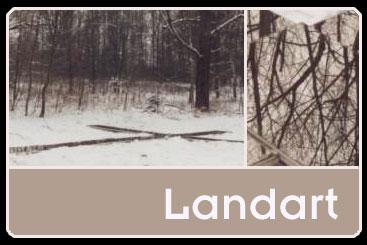Landart: Spiegelkreuz