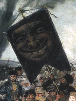 "Francisco de Goya y Lucientes: ""The Burial of the Sardine"", Detail Banner"
