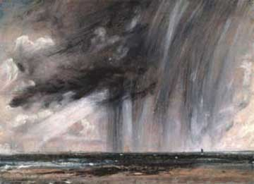Abbildung: John Constable, Rainstorm over the Sea, c. 1824-5