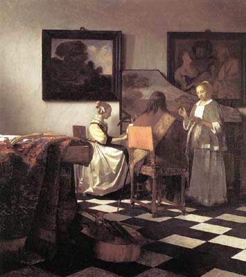 Love Letter by Jan Vermeer
