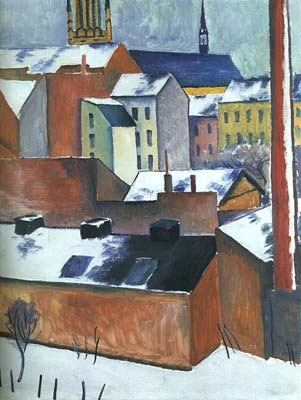 August Macke: St. Marys in the Snow
