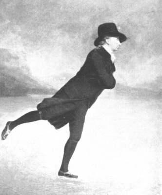 Sir Henry Raeburn: Rev. Robert Walker als Schlittschuhläufer